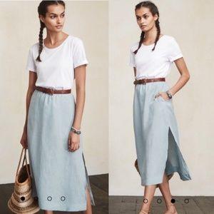 Reformation Taza Skirt Size 2